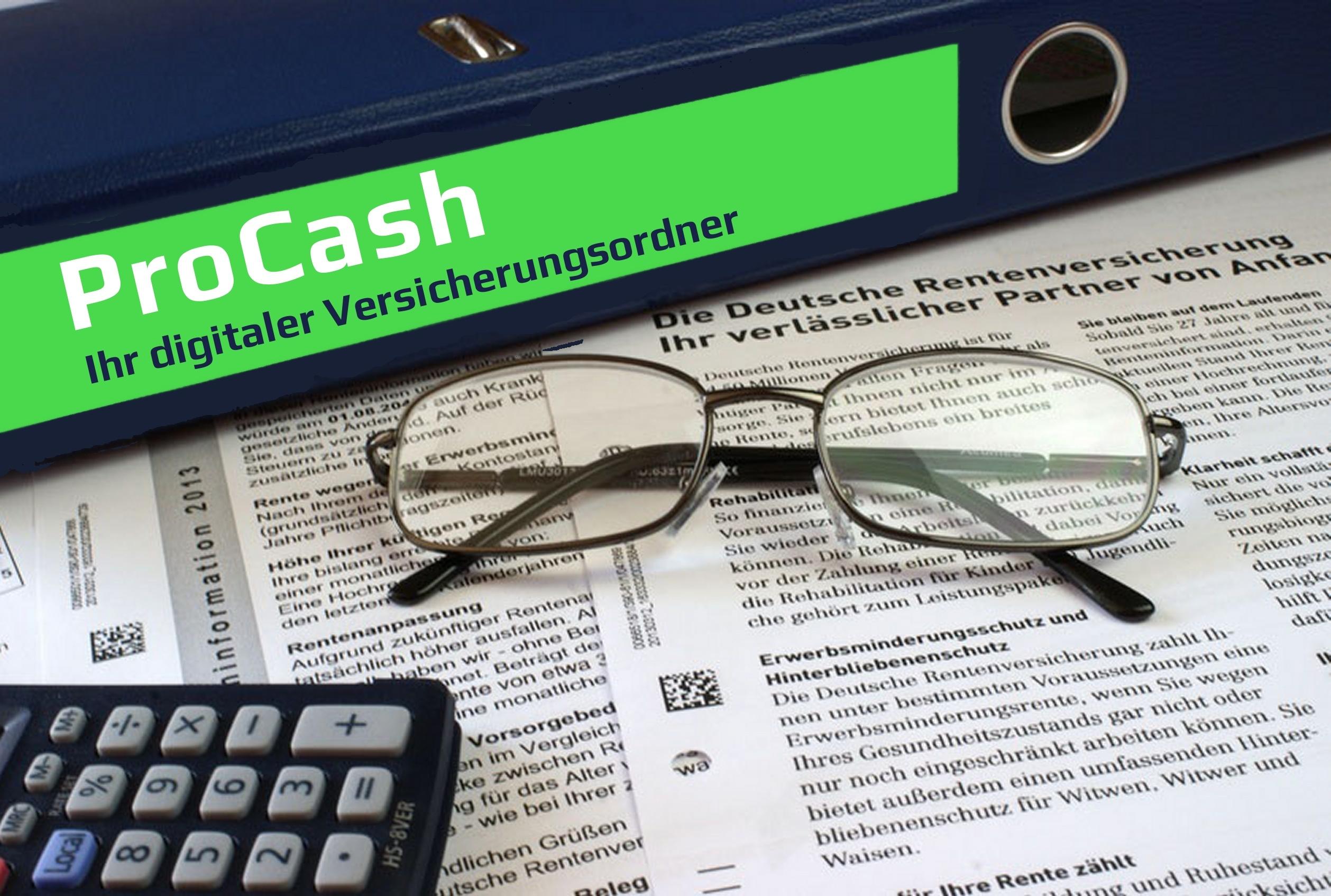 ProCash der digitale Versicherungsordner