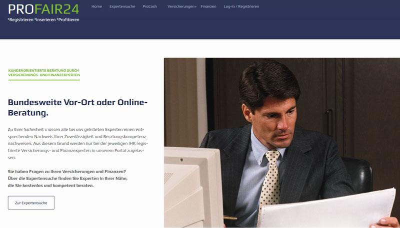 ProExpert - der Experten-Account von ProFair24