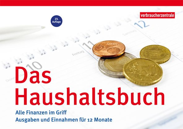 Haushaltsbuch schafft Überblick über Einnahmen und Ausgaben