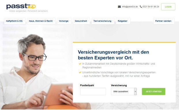 """Screenshot des Internetportals """"Passt24"""": Die Betreibergesellschaft Passt Digital Services GmbH hat Insolvenz angemeldet. © Passt24"""