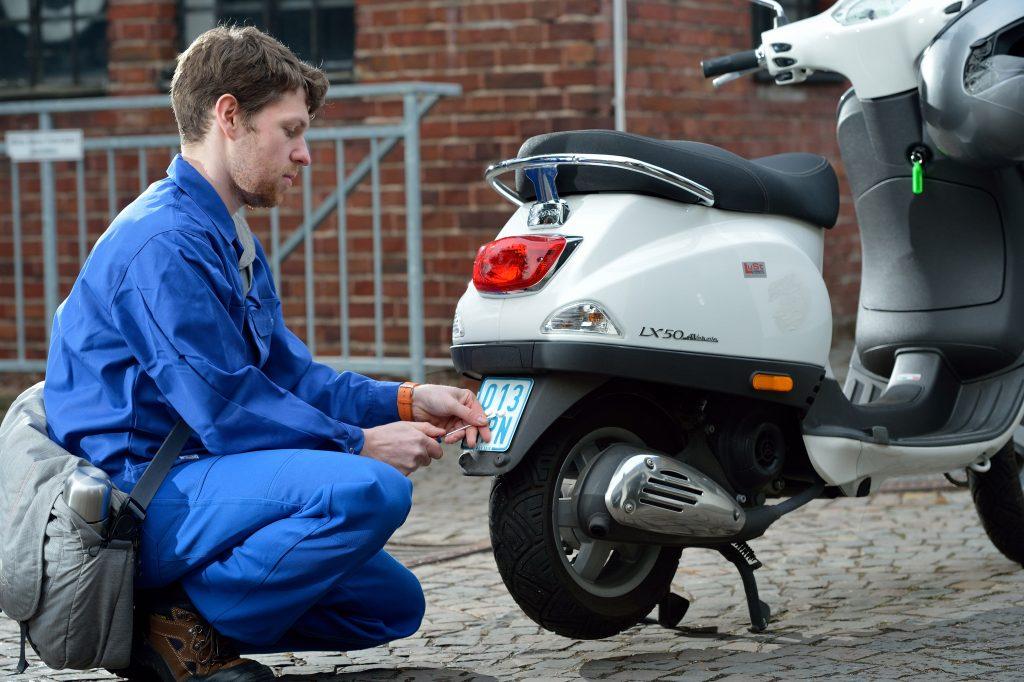 Neue Mopedkennzeichen
