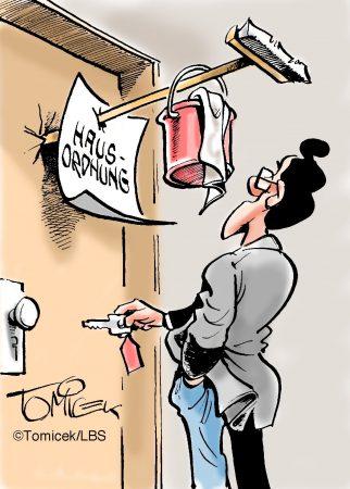 Gerichtsfälle rund um die Reinigung einer Immobilie