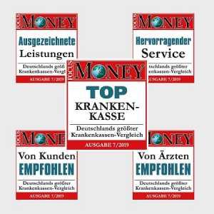 """Spitzenwerte bei Kassentest: BARMER ist erneut """"Top Krankenkasse"""""""