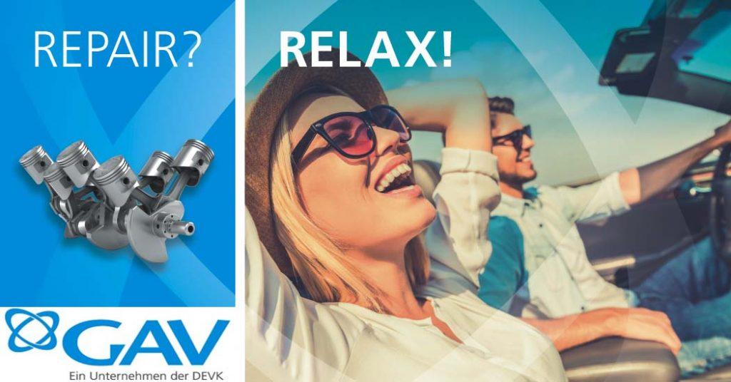 Die GAV Versicherungs-AG ist Spezialversicherer in den Sparten Reparaturkostenversicherung und Garantieversicherung