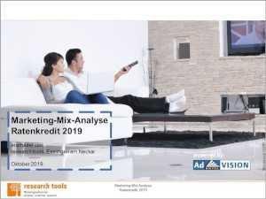 Marketingstudie Ratenkredite: konkrete Zinsvergleiche machen Mühe