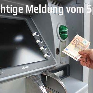 Warnung: Unerwartete Entgelte an Geldautomaten mit Postbank-Sticker