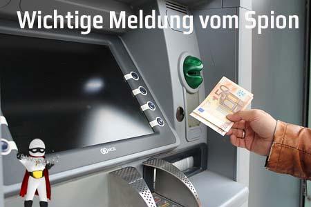 Unerwartete Entgelte an Geldautomaten