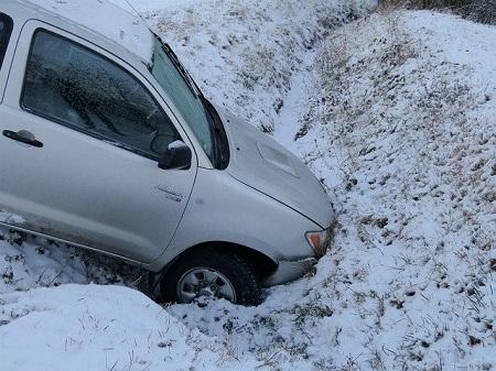 Unfall im Winter mit Sommerreifen