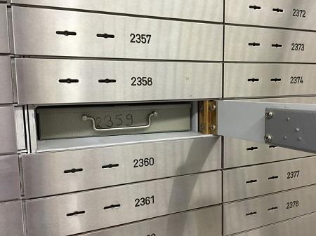 Bankschließfach – hier sind Ihre Wertsachen sicher