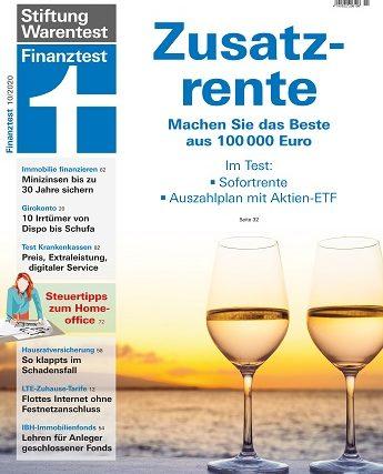 Zusatzrente: Zwei Alternativen für 100.000 Euro